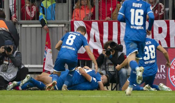 Slavlje fudbalera Hofenhajma