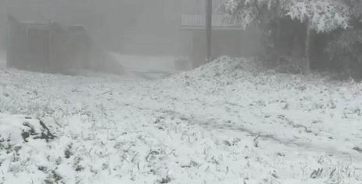 Sneg Hrvatska Gorski Kotao
