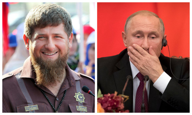 Vladimir Putin, Ramzan Kadirov