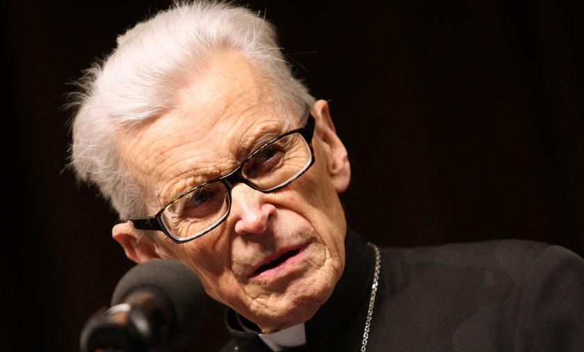 Kardynał Franciszek Macharski.