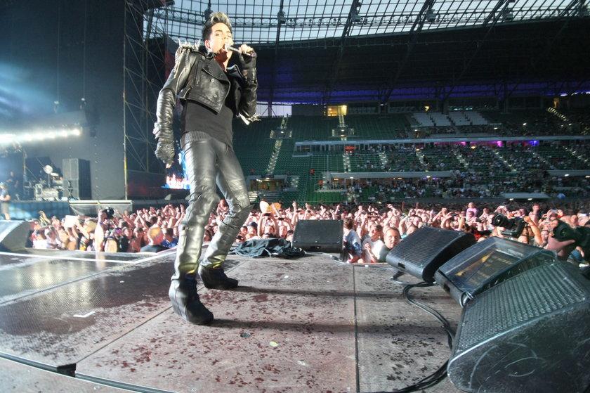 Adam Lambert na Stadionie Miejskim we Wrocławiu