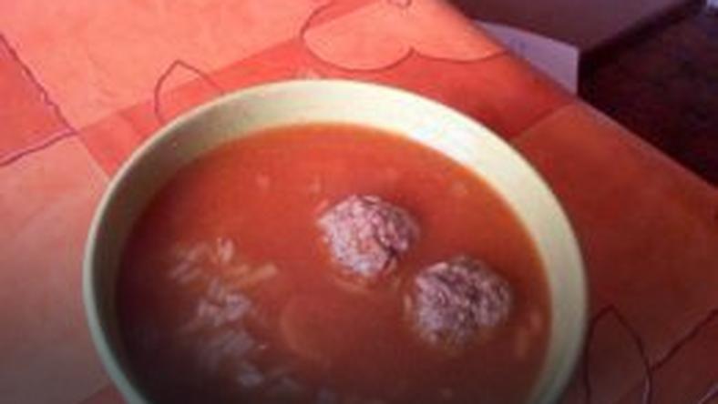 Pomidorowa Z Ryżem I Kulkami Mięsnymi Onet Gotowanie