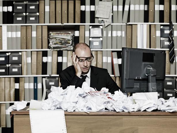 Bałagan na biurku