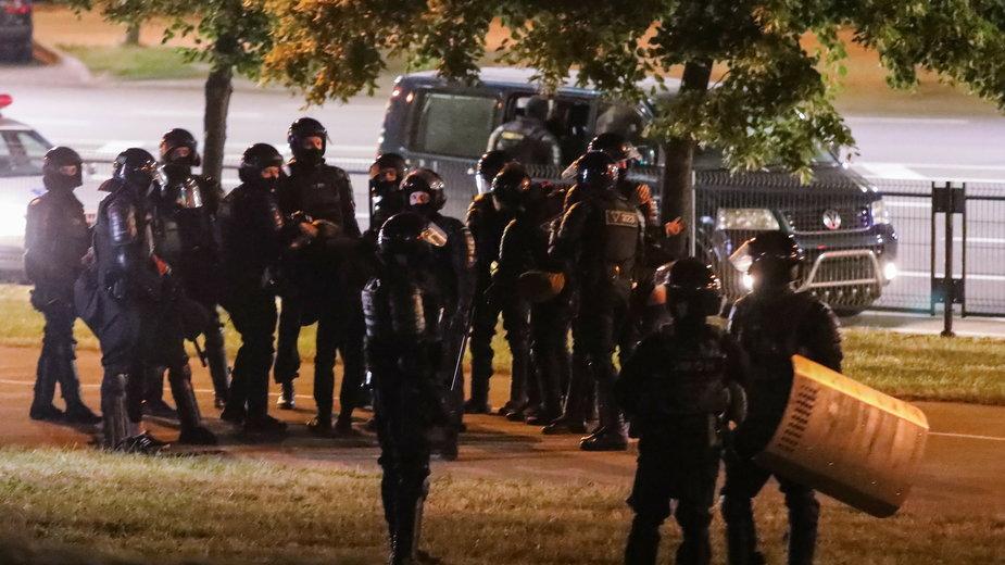 Kolejny dzień protestów po wyborach prezydenckich na Białorusi