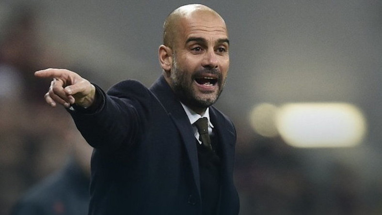 Pep Guardiola, fot. AFP