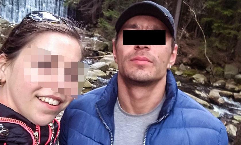 Mąż podpalił żonę