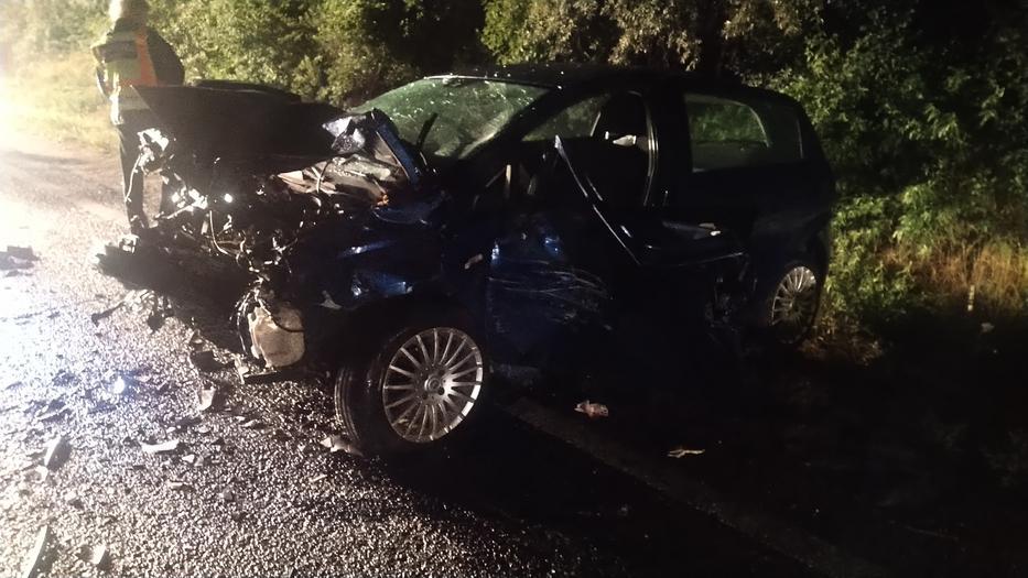 Az egyik sofőr a helyszínen belehalt a sérüléseibe /Fotó: Blikk