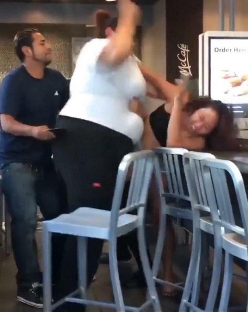 Bójka w McDonalds