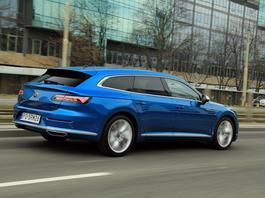 Volkswagen Arteon Shooting Brake – praktyczny, stylowy i prestiżowy