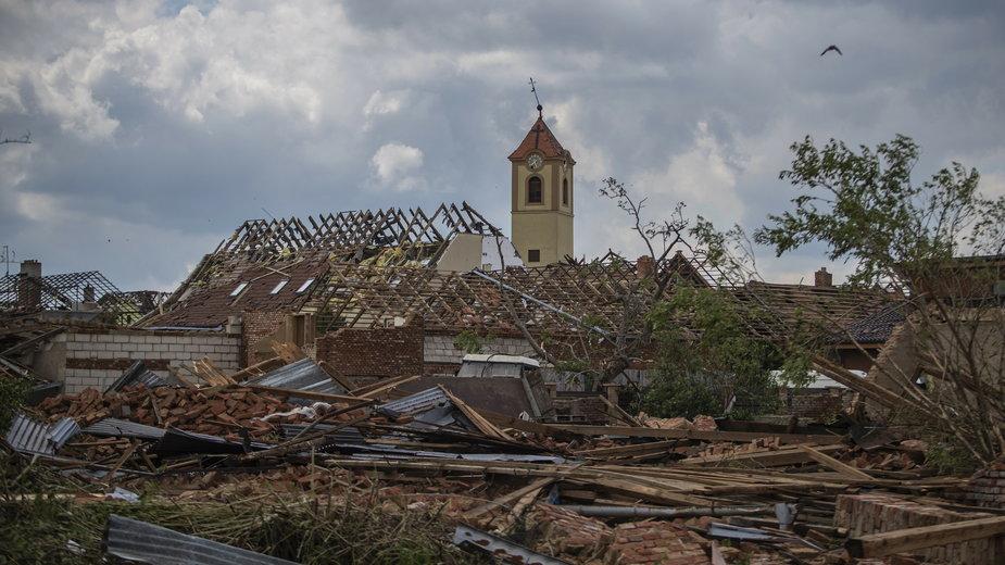 Przez Czechy przetoczyło się wyjątkowo silne tornado