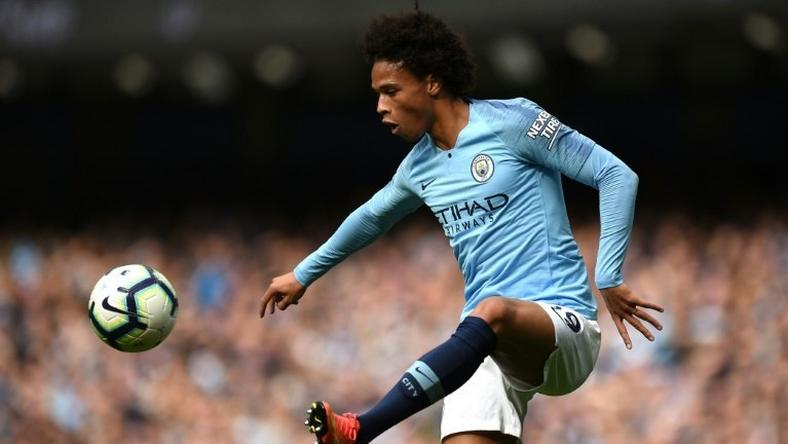 The skilful Leroy Sane scored for Manchester City in the champions' 3-0 Premier League win at home to Fulham on Saturday