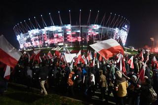 Marsz narodowców przeszedł przez Warszawę