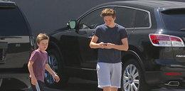 Beckham zostawił syna w nagrzanym aucie
