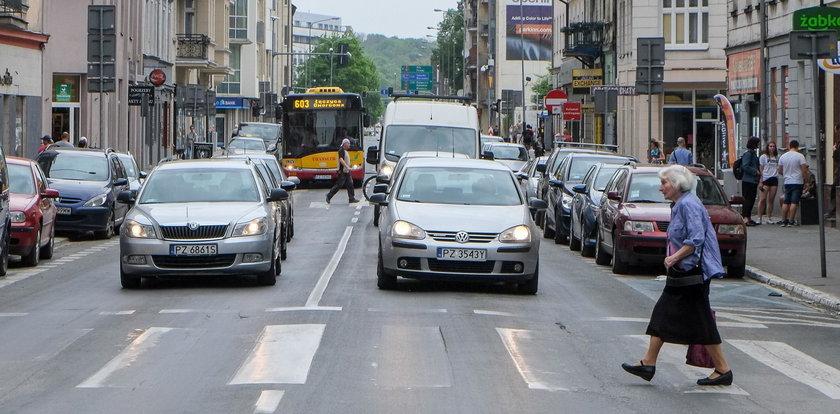 Poznań nie jest dla kierowców!