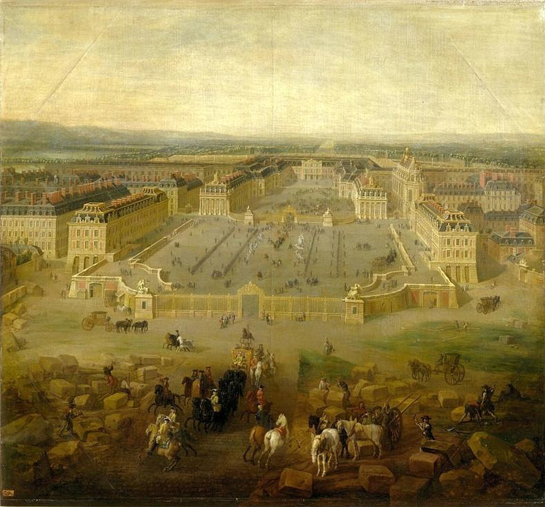 Versace était comme ça peu de temps après la mort de Louis XIV