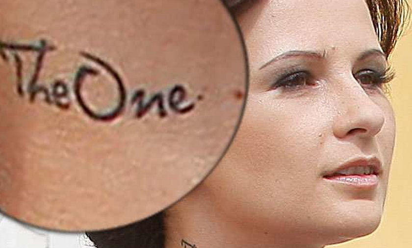 Żona Wiśniewskiego ma tatuaż na szyi! Co oznacza?
