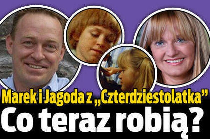 """Marek i Jagoda z """"Czterdziestolatka"""". Co teraz robią?"""
