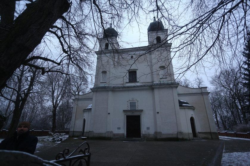 Kościół gdzie wzięła ślub Joanna Koroniewska