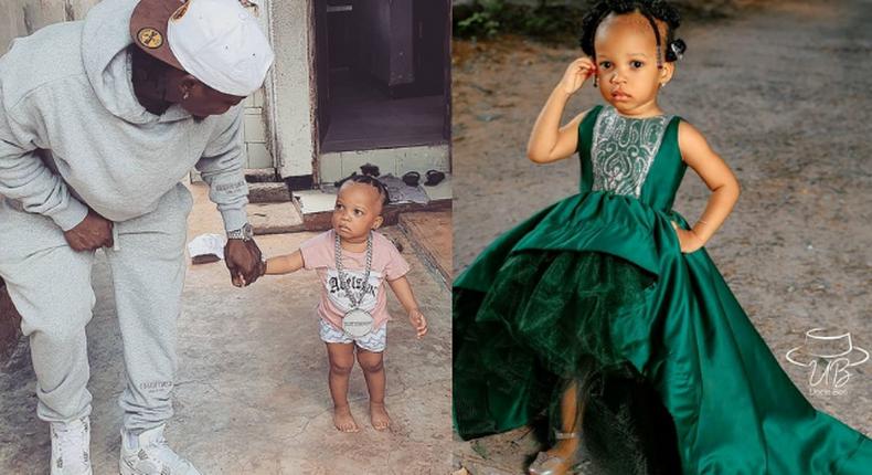 Harmonize and his daughter Zulekha