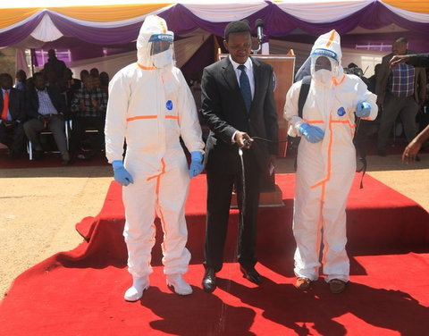Coronavirus 'good' for Kenya, Alfred Mutua says