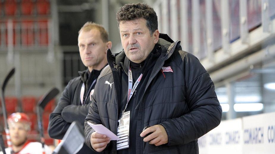 Rudolf Roháček trener Comarch Cracovii