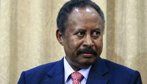Sudanese Prime Minister Abdallah Hamdok [AFP]