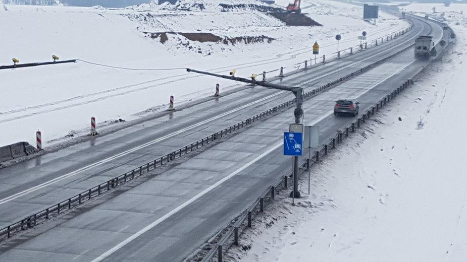 Odcinkowy pomiar prędkości na A1