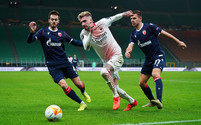 Marko Gobeljić u jednom od duela sa igračem Milana