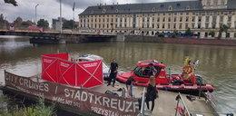 Wrocław. Ciało mężczyzny wyłowione przy mostach Pomorskich