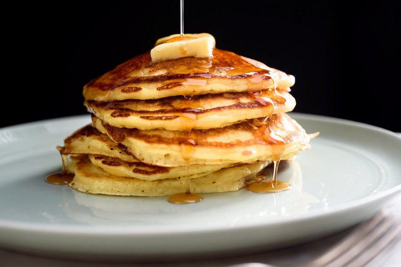 Fluffy pancakes(cooking.nytimes)