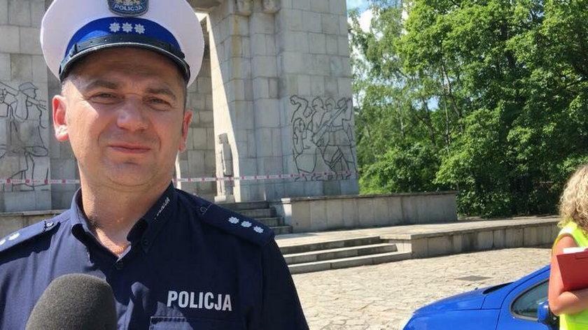 Piotr Malczak z KPP Strzelce Opolskie