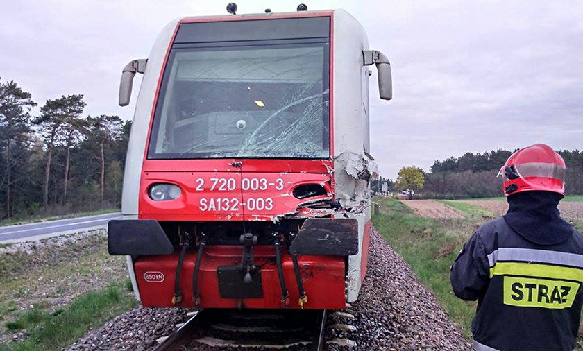 Bohaterski maszynista uratował pasażerów