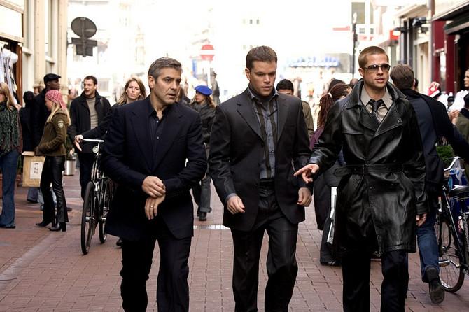 Kluni, Dejmon i Pit u istom kadru
