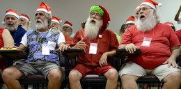 Mikołaje już szkolą się przed świętami