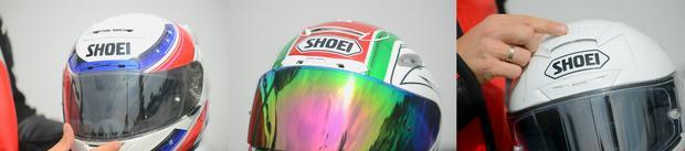 Wentylacja w kaskach Shoei X-Spirit