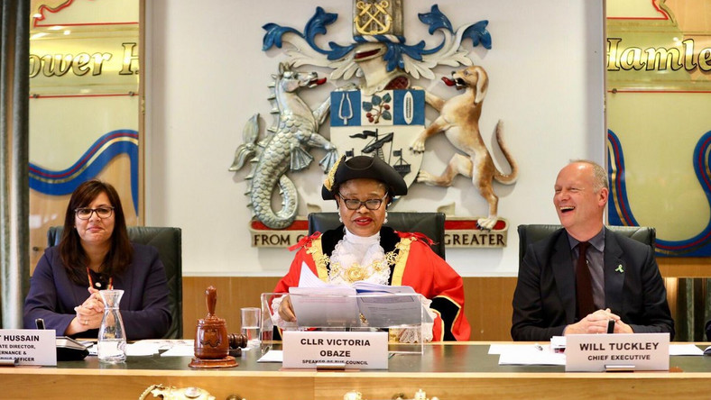 Image result for Another Nigerian Woman, Victoria Obaze Becomes Mayor In UK