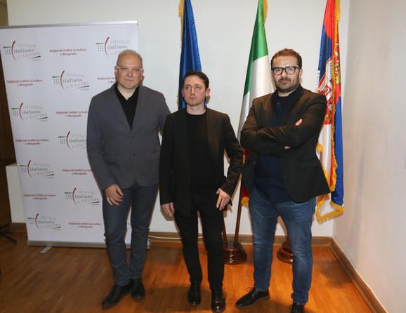 Dragan Zdravković, Nikola Samori i Radenko Milak