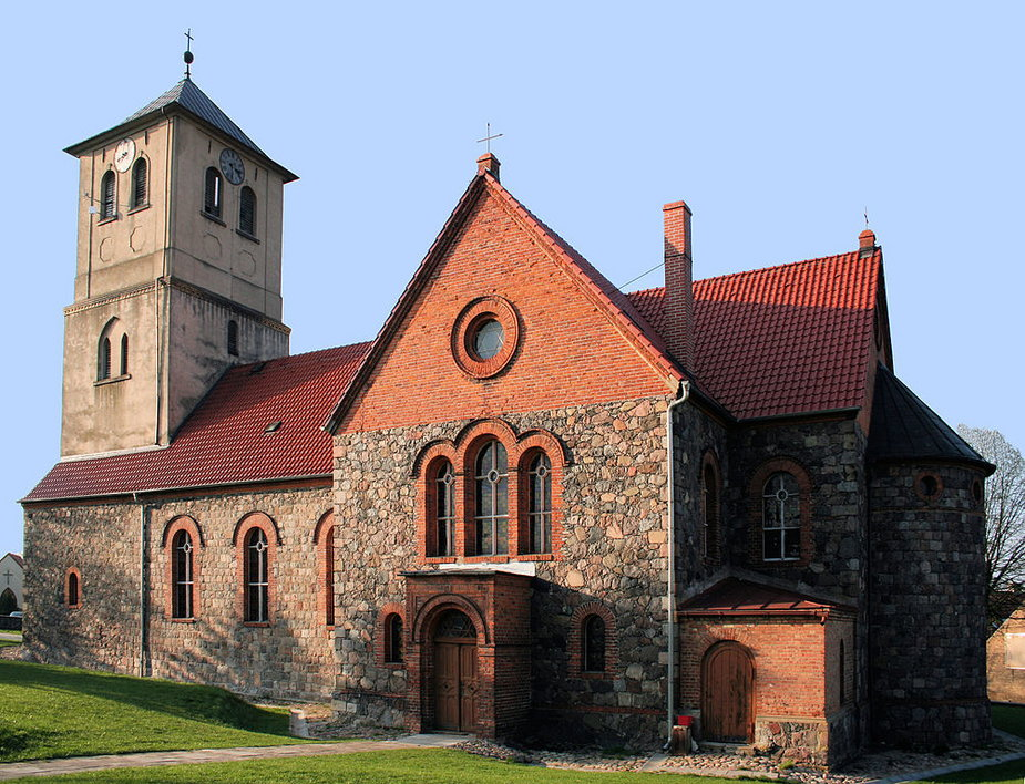 kościół św. Stanisława Biskupa Męczennika w Cychrach