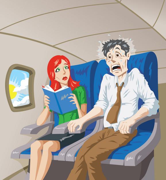 Neki stepen straha od letenja ima 40 odsto ljudi