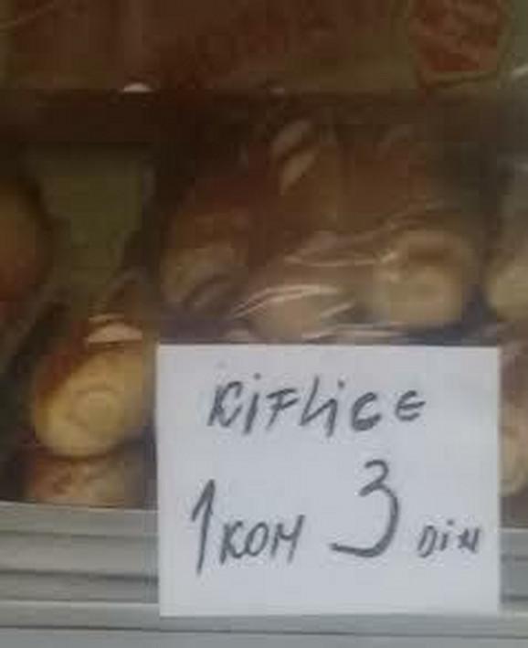 Kiflice se i sada mogu kupiti po ovoj ceni