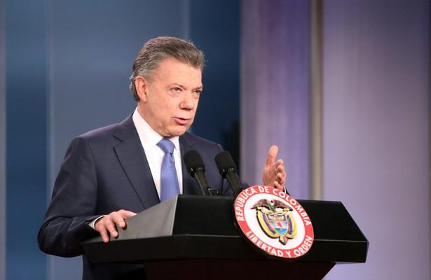 Juan Manuel Santos, prezydent Kolumbii
