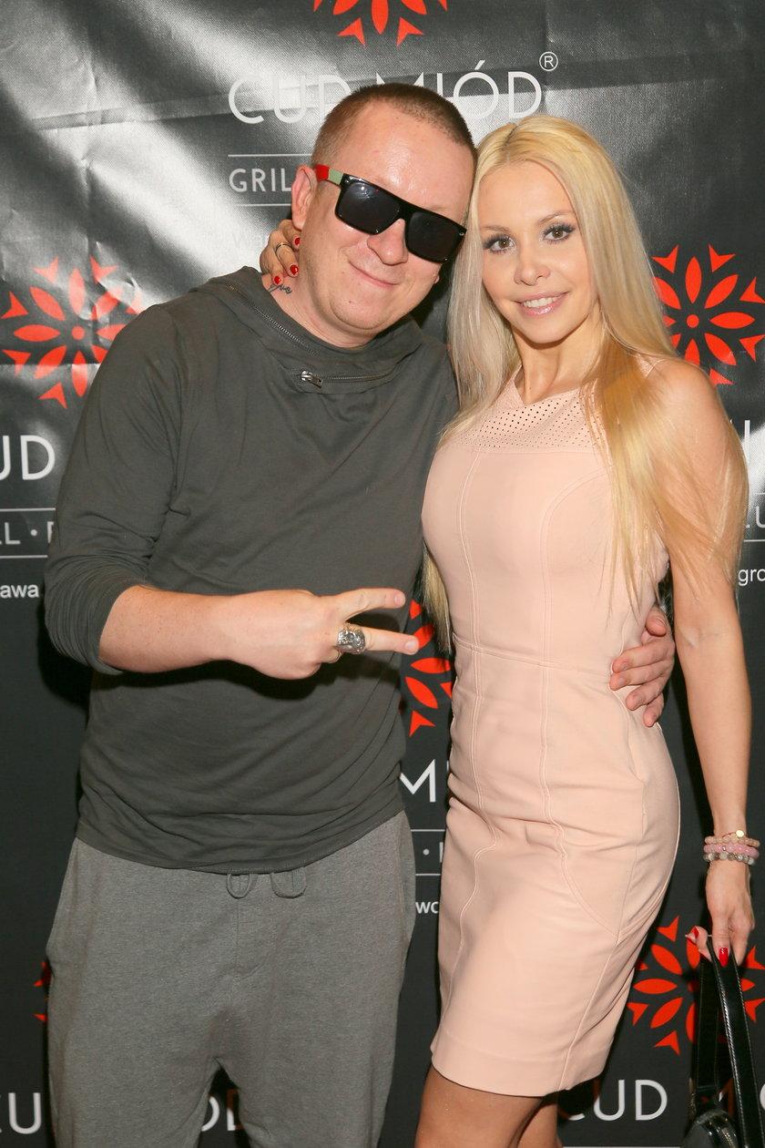 Ewa Lubert z mężem
