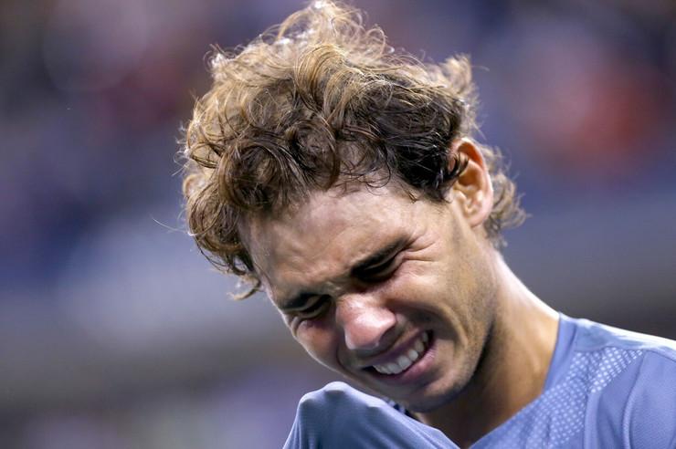 Rafael Nadal u suzama