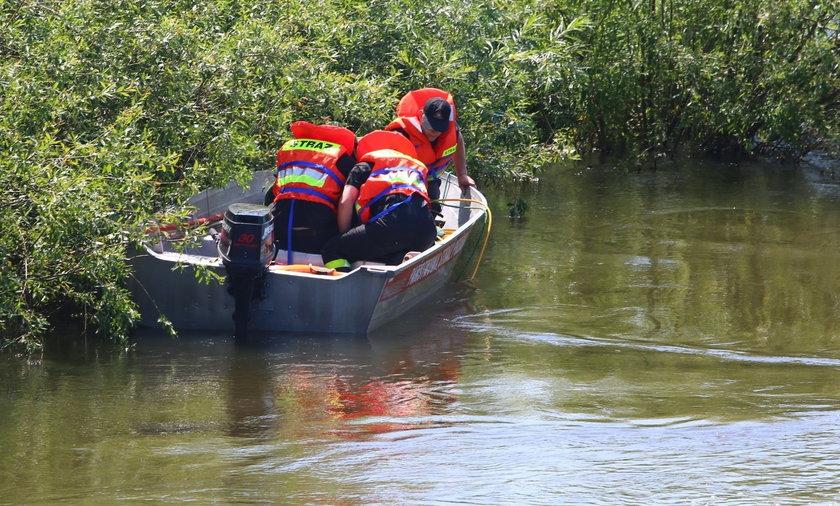 Nurt rzeki Wieprz porwał dwóch chłopców
