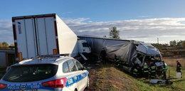 Groźny wypadek w Lubuskiem. Jedna osoba ranna