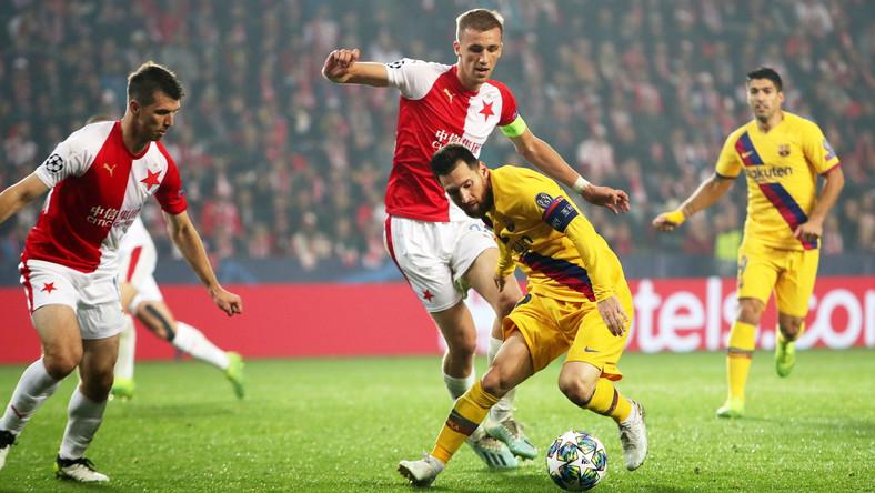 Lionel Messi i Tomas Soucek