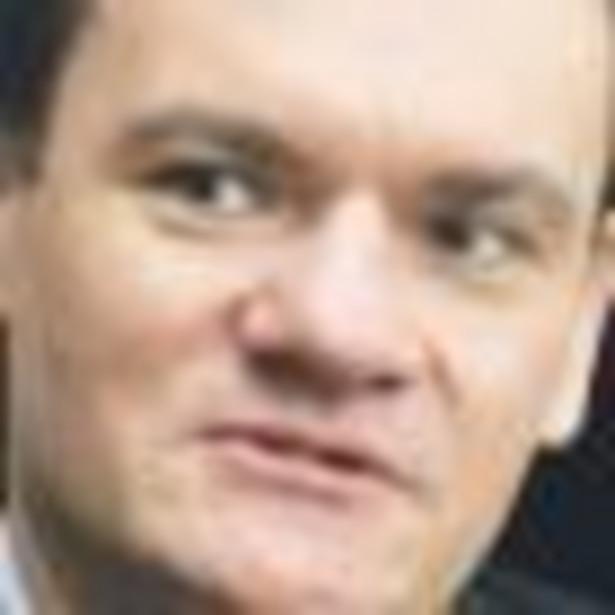 Dariusz Daniluk, wiceminister finansów Fot. Wojciech Górski