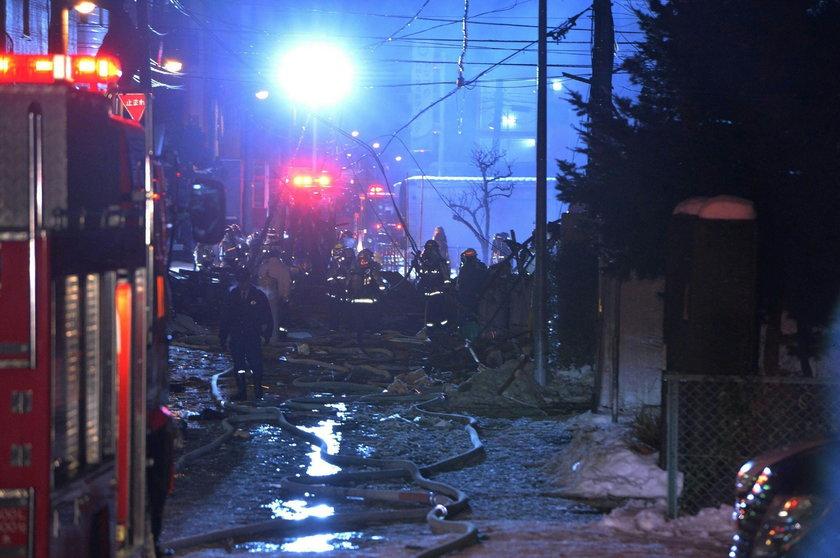 Wybuch w restauracji w Sapporo. Kilkadziesiąt osób rannych