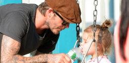 Beckham to supertata! Zobacz zdjęcia