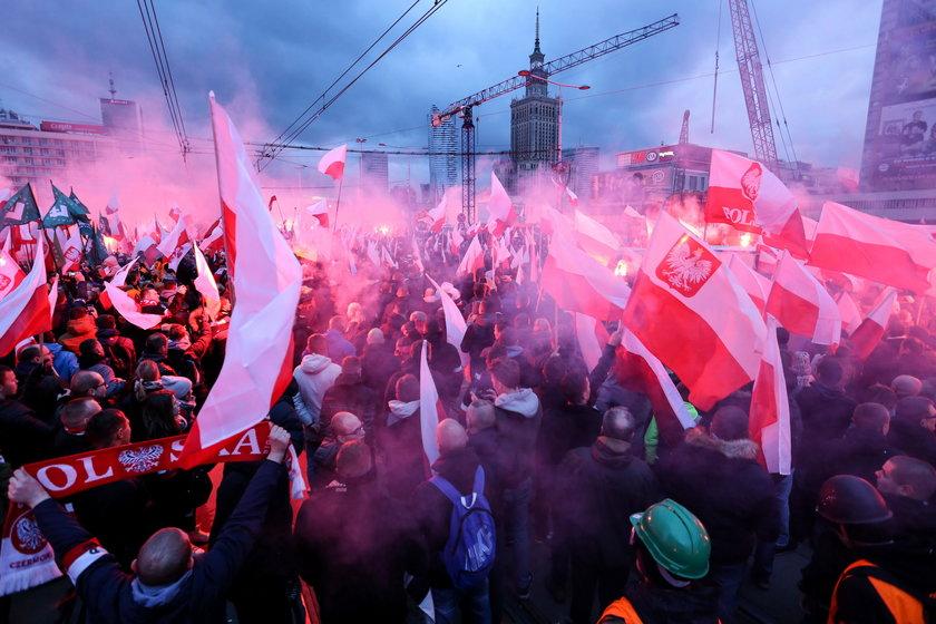Ubiegłoroczny Marsz Niepodległości